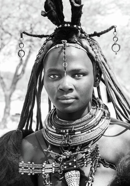 Photograph - Himba Girl by Mache Del Campo