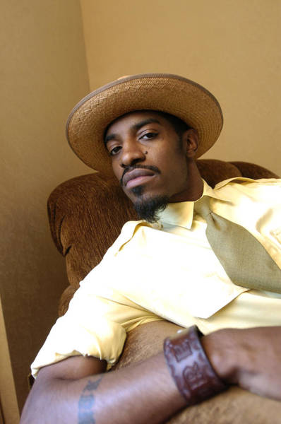 Hip Photograph - Hip-hop Star Andre Benjamin, Also Known by New York Daily News Archive
