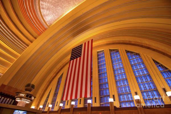 Photograph - Historic Cincinnati Union Terminal Train Station by Gary Whitton