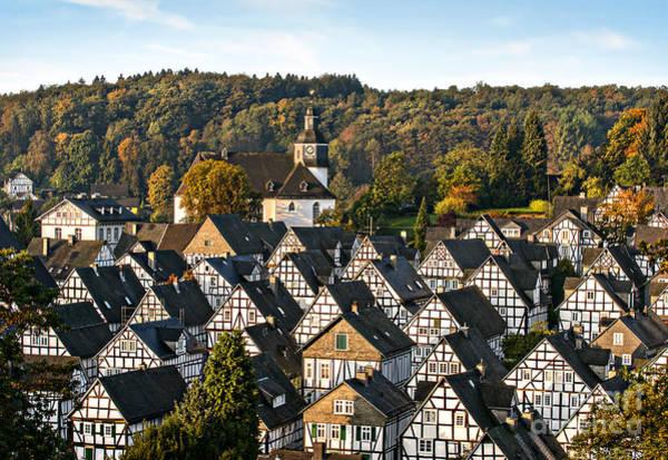 Er Photograph - Historic German Fachwerkhaus Buildings by Er 09