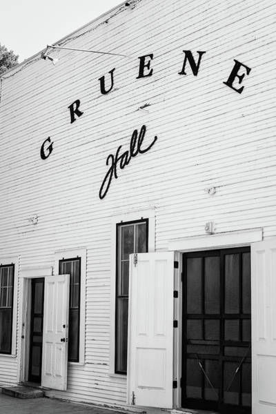 Wall Art - Photograph - Historic Gruene Hall by Stephen Stookey