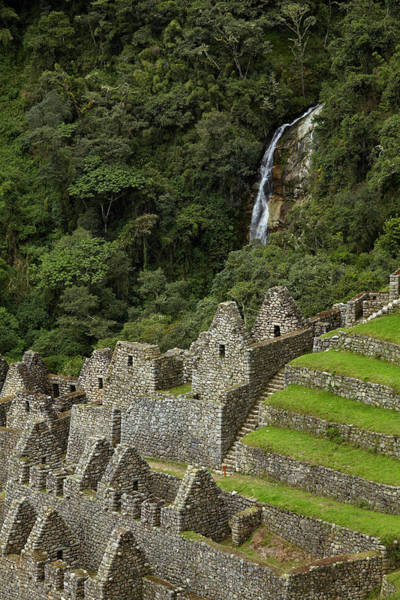 Wall Art - Photograph - Historic Ruins Of Inca City At Winay by David Wall