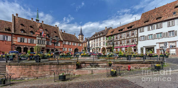 Photograph - Historical Gems In The Alsace by Bernd Laeschke