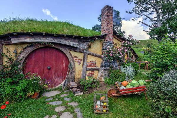Wall Art - Photograph - Hobbiton - New Zealand by Joana Kruse