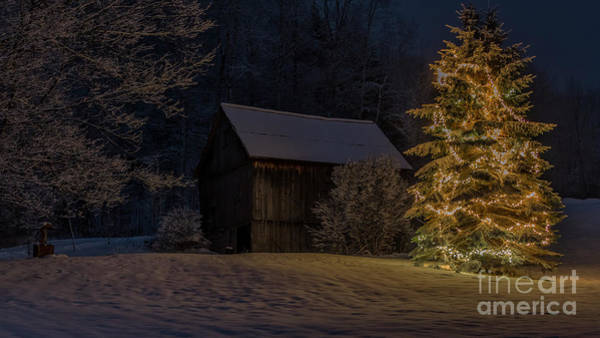 Photograph - Holiday Season In Vermont by Scenic Vermont Photography