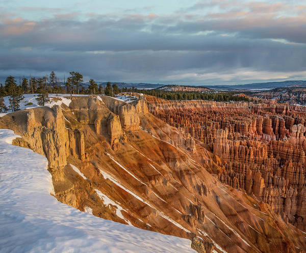 Photograph - Hoodoos In Winter, Bryce Canyon by