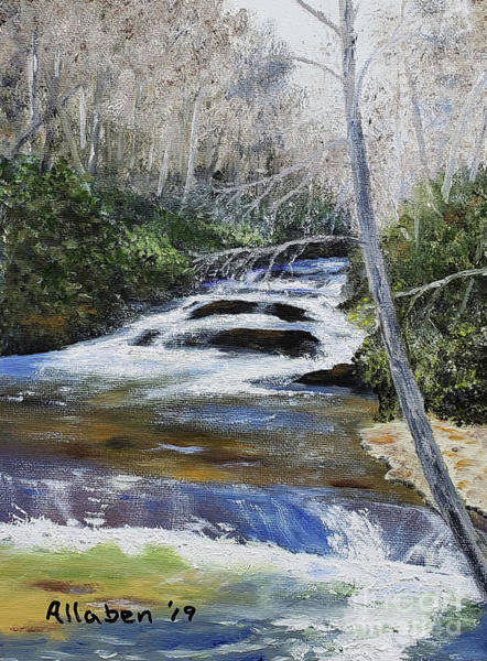 Painting - Horsepasture River by Stanton Allaben