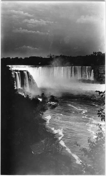 The Horseshoe Wall Art - Photograph - Horseshoe Falls by The New York Historical Society