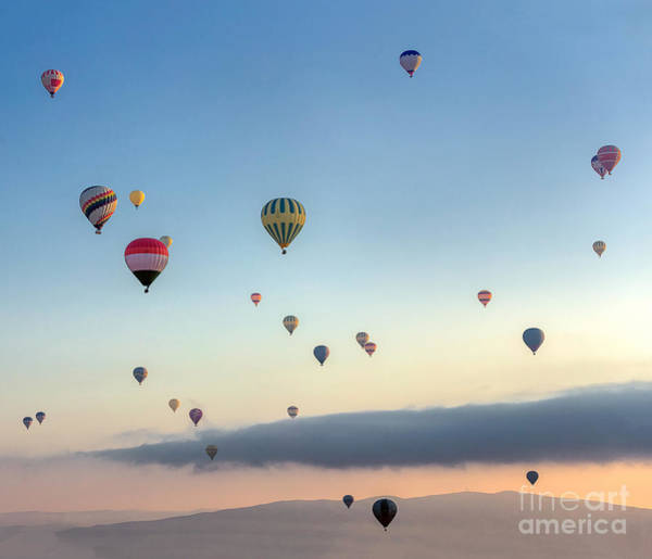 Wall Art - Photograph - Hot Air Balloons Atmosphere Ballons by Vadim Petrakov