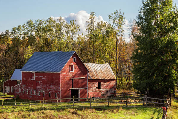 Photograph - Hudson Valley Ny Countryside by Susan Candelario