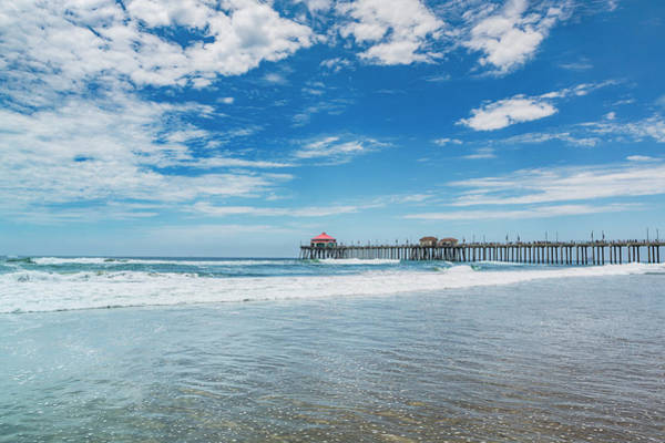 Photograph - Huntingdon Beach Pier, California by Maggie McCall