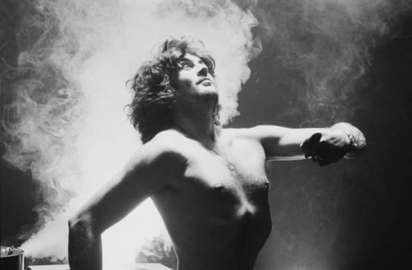 Photograph - Ian Gillan by Fin Costello