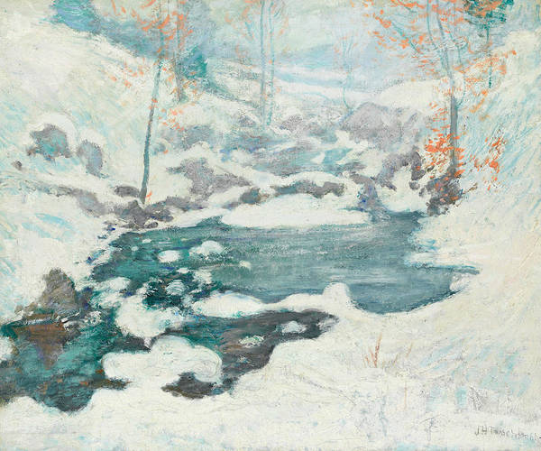 Painting - Icebound by John Henry Twachtman
