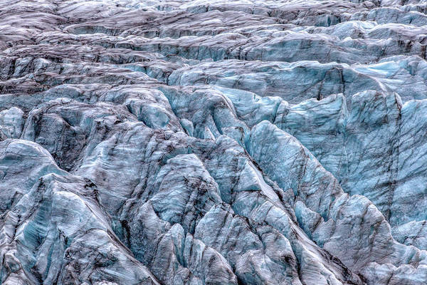 Photograph - Iceland Glacier  by David Letts