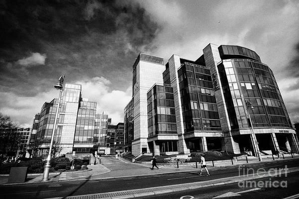 Wall Art - Photograph - Ifsc Building Dublin Republic Of Ireland by Joe Fox