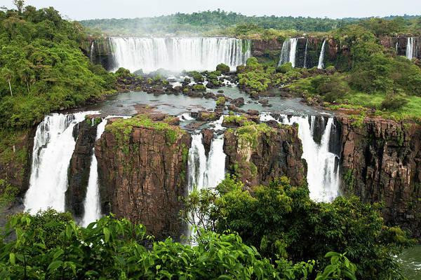 Wall Art - Photograph - Iguazu Falls, Argentina, Brazil by Original Photography