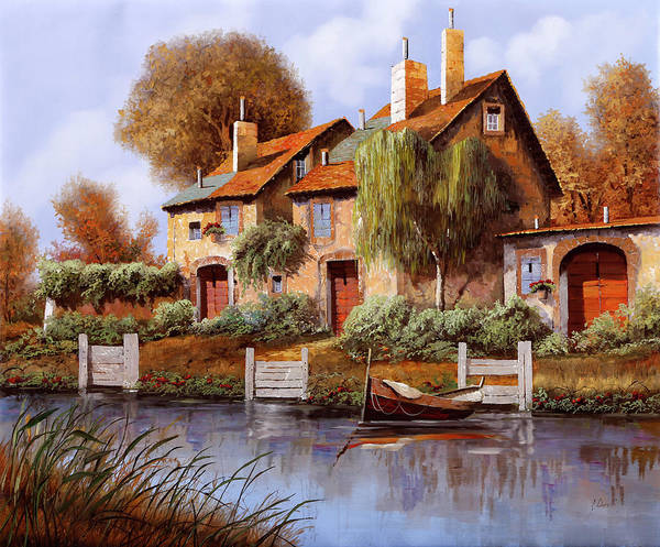 Wall Art - Painting - Il Salice by Guido Borelli