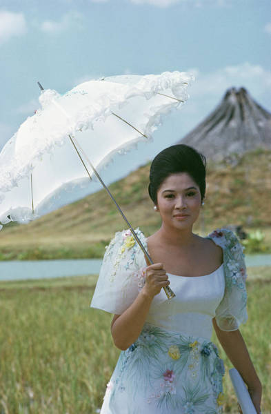 Ferdinand Photograph - Imelda Marcos by Slim Aarons