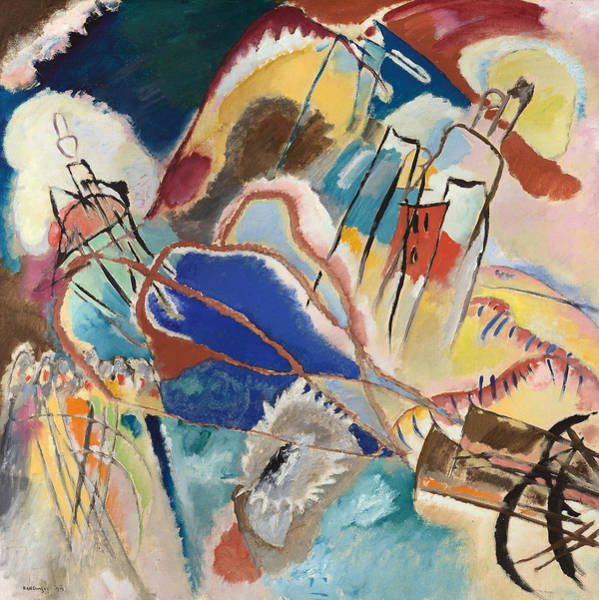 Painting - Improvisation No. 30 - Cannons by Wassily Kandinsky