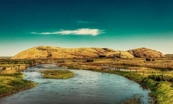 Wall Art - Photograph - Indepence Rock Along The Sweetwater River - Wyoming by Mountain Dreams