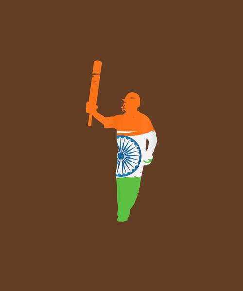 Wall Art - Digital Art - India Cricket Team 2019 World Championship Cup Fan Jersey by Unique Tees