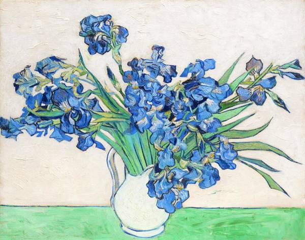 Wall Art - Painting - Irises - Digital Remastered Edition by Vincent van Gogh