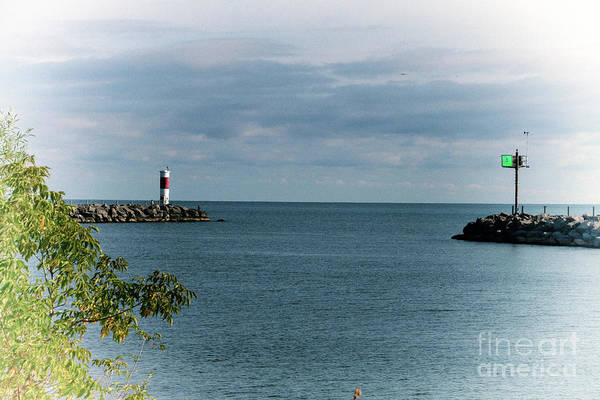 Photograph - Irondequoit Outlet by William Norton