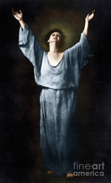 Photograph - Isadora Duncan by Granger