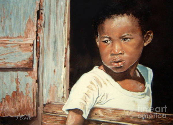Wall Art - Painting - Island Boy  by John Clark