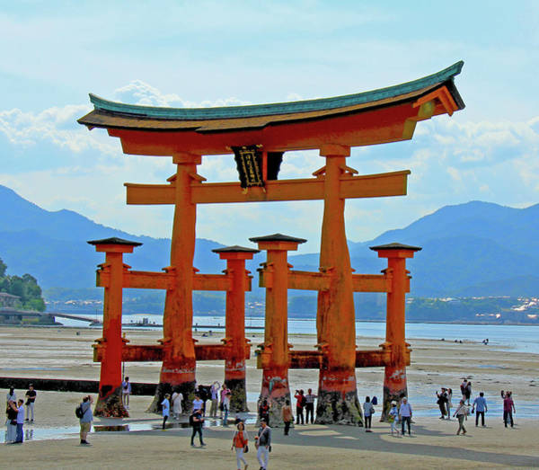 Photograph - Itsukushima Shrine - Mayajima Island, Japan by Richard Krebs