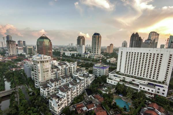 Jakarta Photograph - Jakarta Skyline by @ Didier Marti