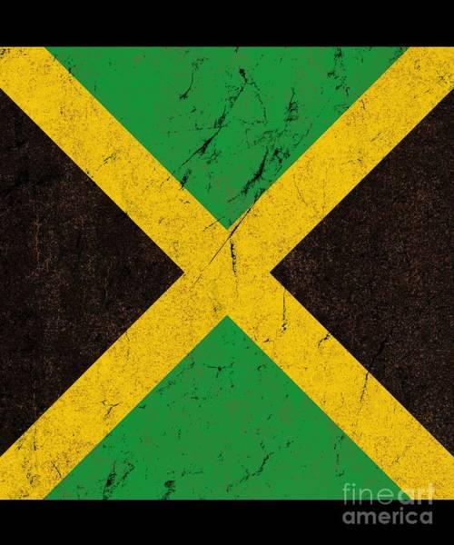 Digital Art - Jamaica Flag by Flippin Sweet Gear