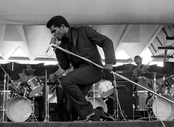 Soul Music Photograph - James Brown At Newport Jazz Festival by Tom Copi