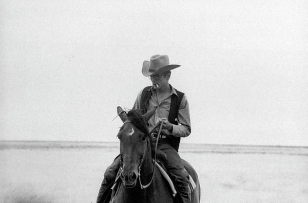 Horizontal Photograph - James Dean by Allan Grant