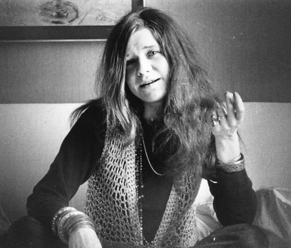 Janis Joplin Photograph - Janis Joplin by Evening Standard
