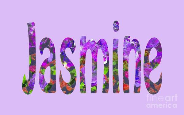 Digital Art - Jasmine by Corinne Carroll