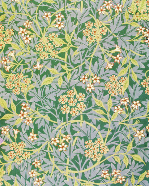 Wall Art - Painting - jasmine - Digital Remastered Edition by William Morris