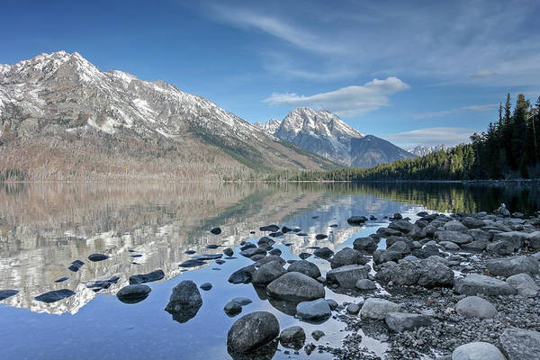 Photograph - Jenny Lake by Ronnie and Frances Howard