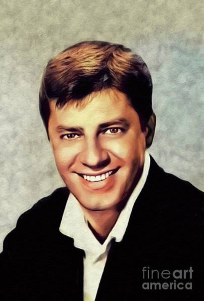Wall Art - Painting - Jerry Lewis, Hollywood Legend by John Springfield