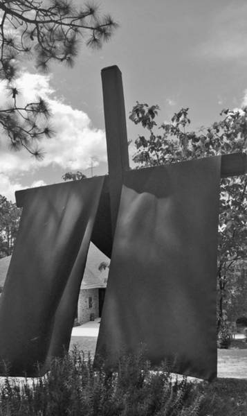 Photograph - Jesus At The Cross by Matthew Seufer