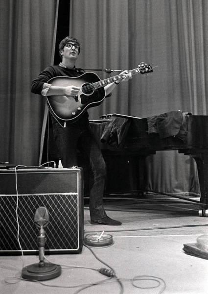 John Lennon Photograph - John Lennon Of The Beatles Pop Group by Popperfoto