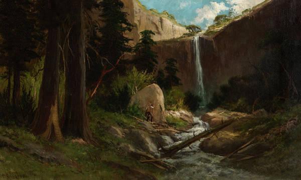 Wall Art - Painting - John Muir's Valley, Yosemite by Frederick Schafer