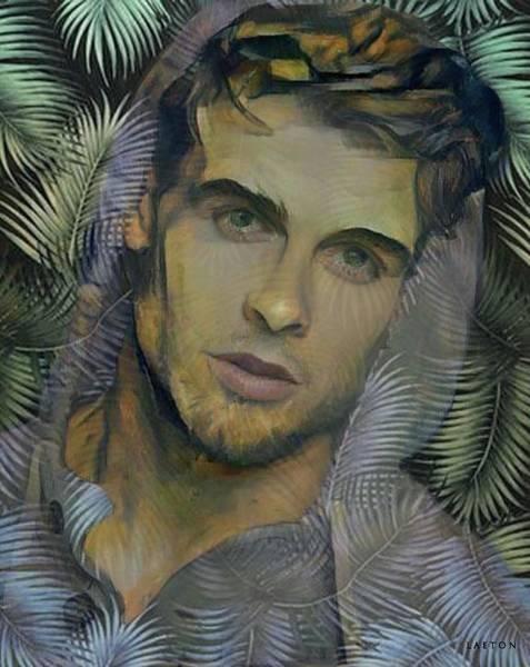 Digital Art - John by Richard Laeton