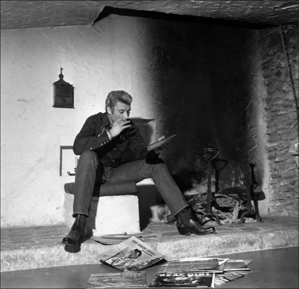 Photograph - Johnny Hallyday In The Sixties In by Reporters Associes