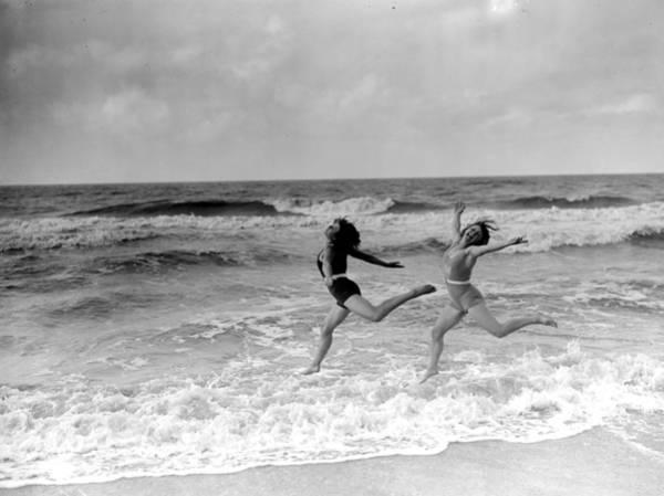 Dancing Water Photograph - Joie De Vivre by Fox Photos