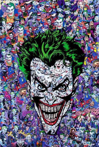 Robin Digital Art - Joker by Geek N Rock