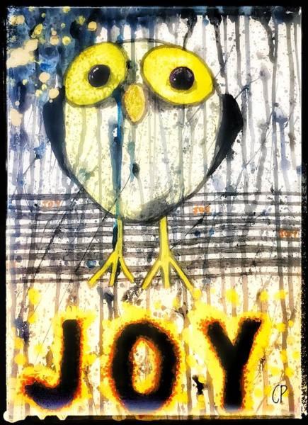 Painting - JOY by Christine Paris