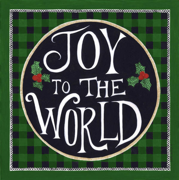 Wall Art - Painting - Joy To The World by Cindy Shamp