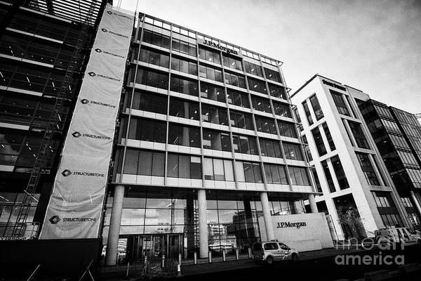 Wall Art - Photograph - Jp Morgan Dublin Offices 200 Capital Dock Dublin Republic Of Ireland by Joe Fox