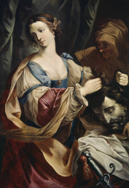 Painting - Judith With The Head Of Holofernes by Elisabetta Sirani